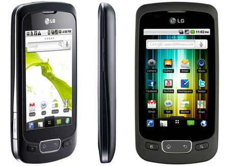 LG-P500 Optimus One