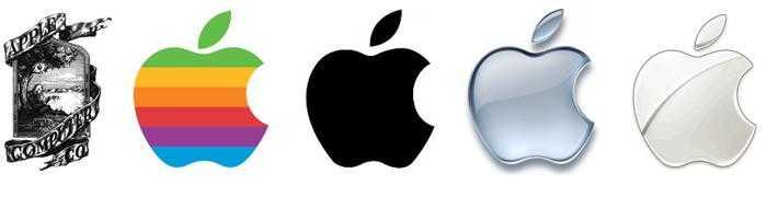 Эволюция логотипа Apple