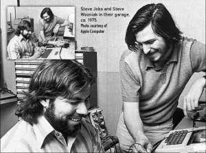 Джобс и Возняк 1975 год