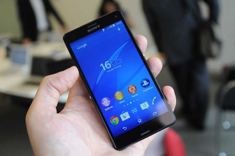 sony z3 compact дисплей
