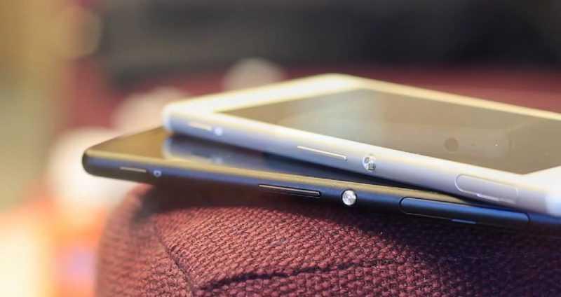 Sony Xperia M4 Aqua черный и белый смартфоны
