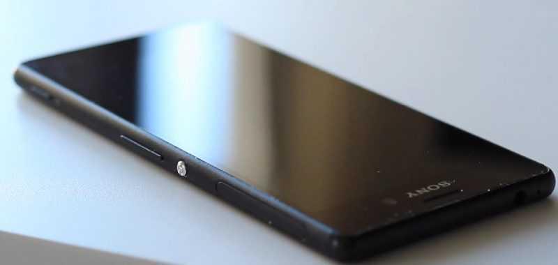 Sony Xperia M4 Aqua крупным планом