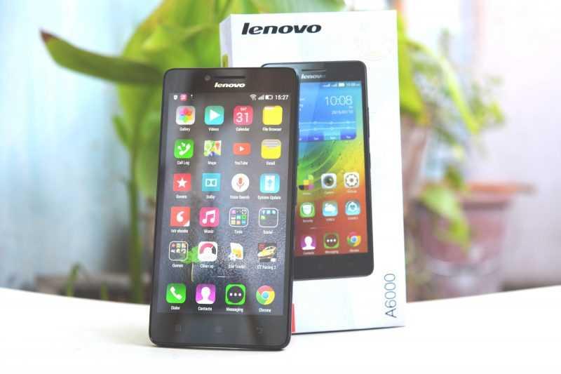 Обзор Lenovo A6000