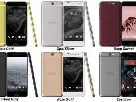 Стали известны все расцветки HTC One A9