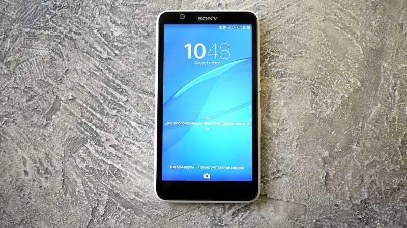 Смартфон Sony Xperia E4 Dual E2115