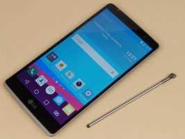 Смартфон LG G4 Stylus Dual H540 Titan и фирменный стилус