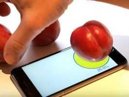 Plum-O-Meter позволяет владельцам iPhone 6S измерить вес объекта