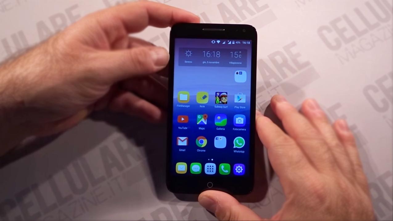 Дисплей смартфона Alcatel OneTouch Pop 3
