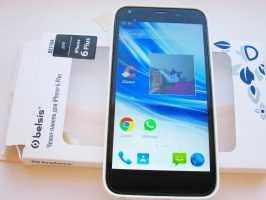 Яркий и насыщенный дисплей в смартфоне ARK Benefit M7