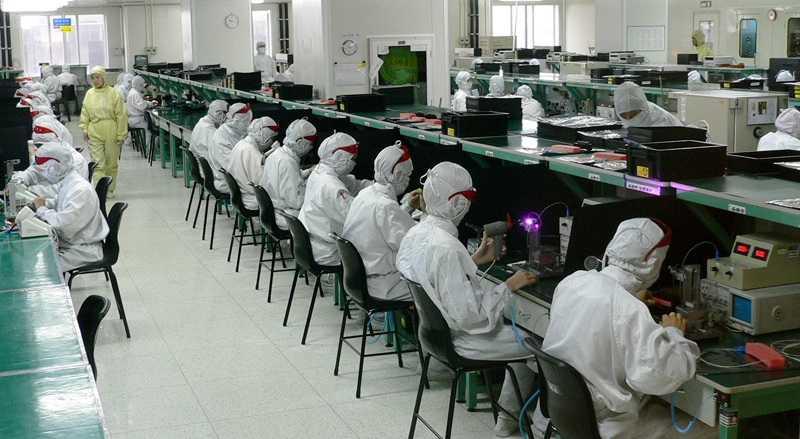Как делают в Китае смартфоны Apple