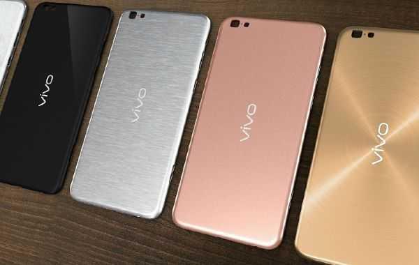 Расцветки корпуса смартфона Vivo X6