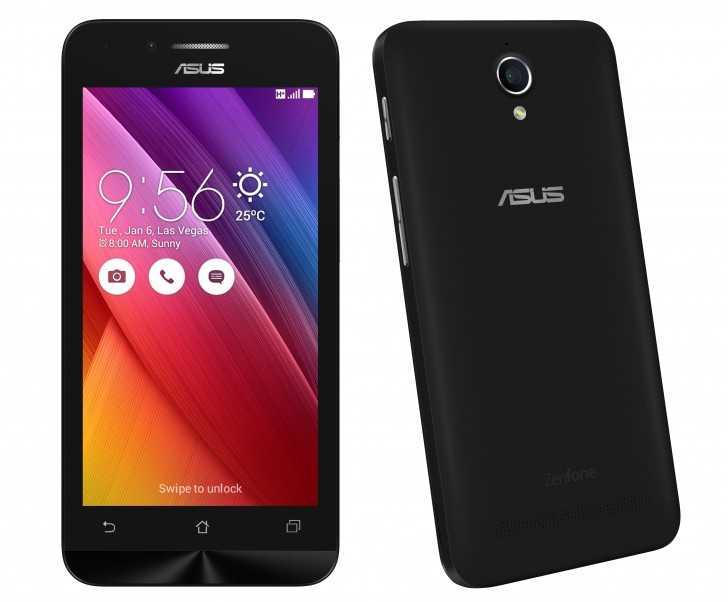 Представлен смартфон ASUS ZenFone Go