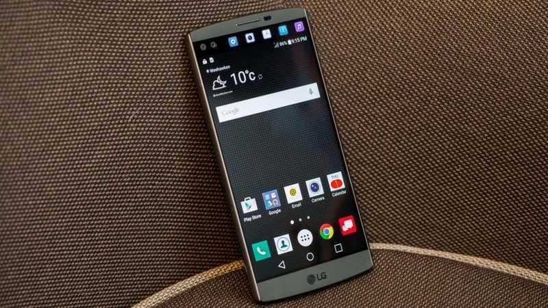 В Северной Америке продано свыше 450000 смартфонов LG V10