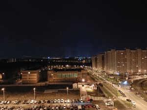 Пример ночной съемки на основную камеру Meizu Pro 5