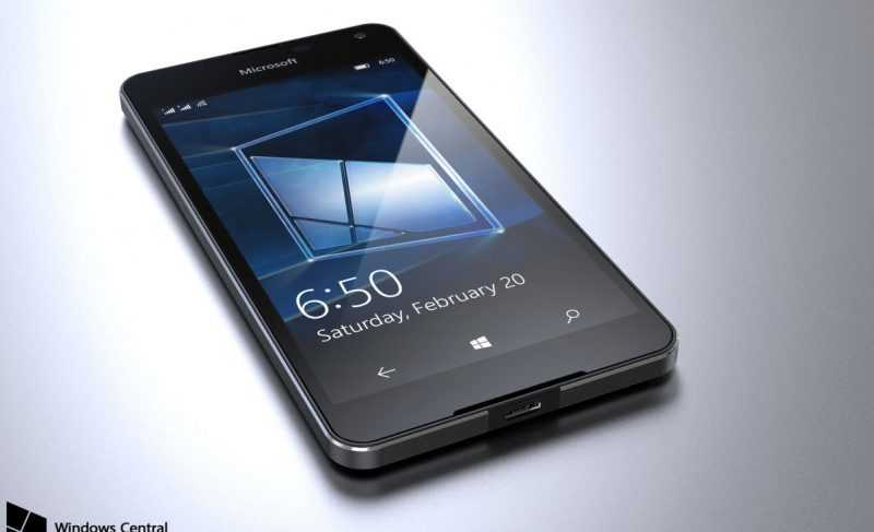 Объявлена стоимость Microsoft Lumia 650