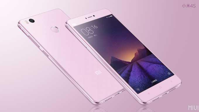 Официально представлен смартфон Xiaomi Mi 4s