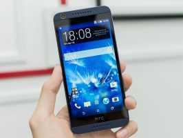 Смартфон HTC Desire 626G в руке