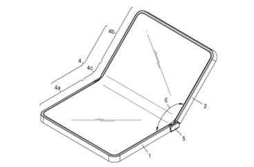 Samsung оформила патенты на складные смартфоны