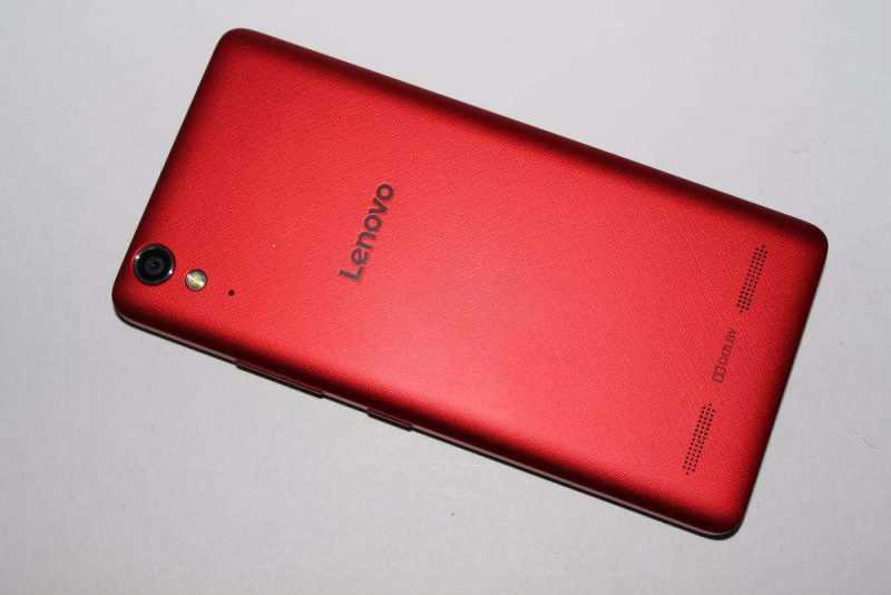 Lenovo A6010 Pro Red