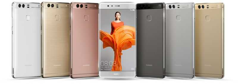 Анонсированы Huawei P9 и P9 Plus
