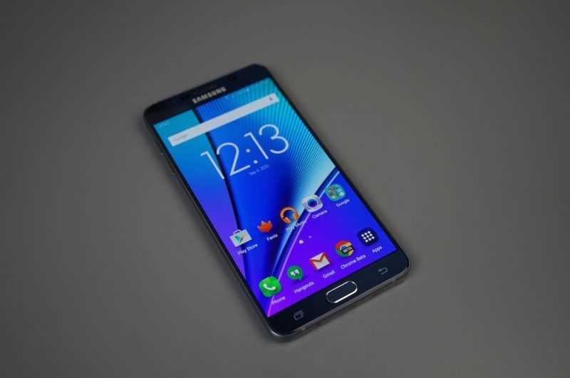 Samsung тестирует две версии Galaxy Note 6