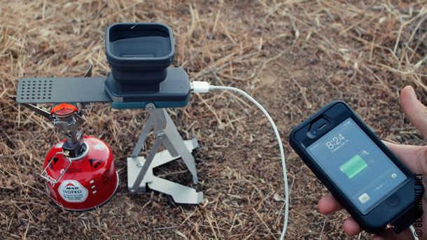 FlameStower - зарядное устройство, которому нужен огонь