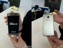 Известны спецификации и цены Samsung C5 и C7