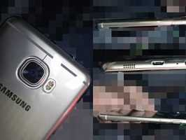 Появились первые живые фото Samsung Galaxy C5