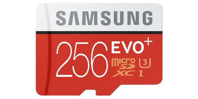 Samsung собирается продавать карту памяти microSD на 256 Гб