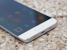 Разъем Type C и мультимедийный динамик в Xiaomi Mi5