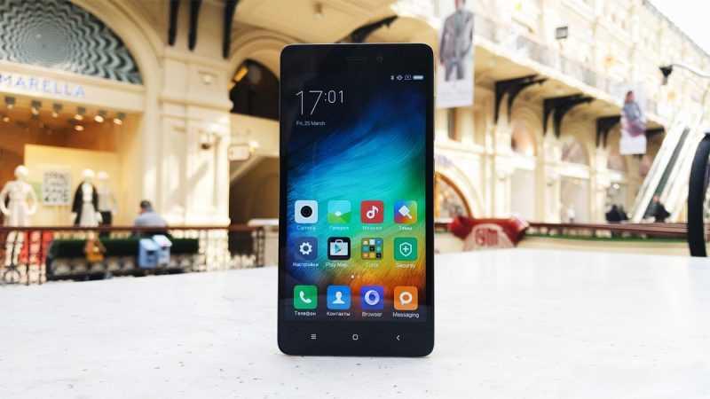 Лицевая часть и дисплей Xiaomi Redmi 3