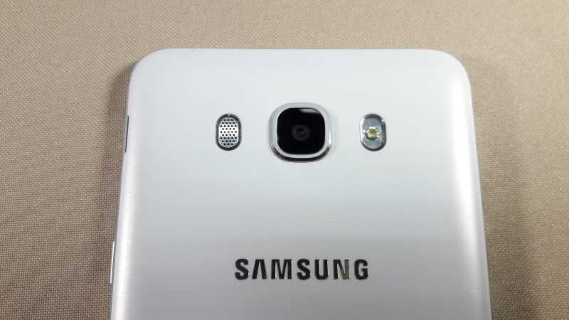 Основная камера Кнопка домой Samsung Galaxy J7 SM-J710F (2016)