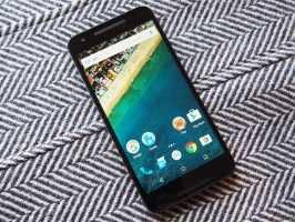 Дисплей и лицевая часть LG Nexus 5X H791
