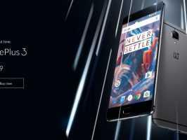 Цена OnePlus 3