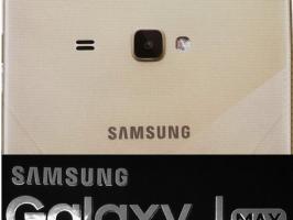 Samsung Galaxy J MAX;