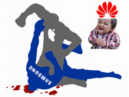 Samsung, Apple и Huawei