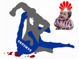 Samsung, Apple и Huawei