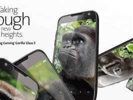 Анонсировано стекло Corning Gorilla Glass 5