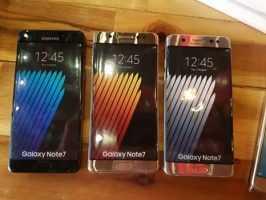 Лицевая часть Samsung Galaxy Note 7