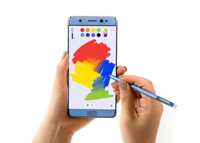 Samsung Galaxy Note 7 стилус