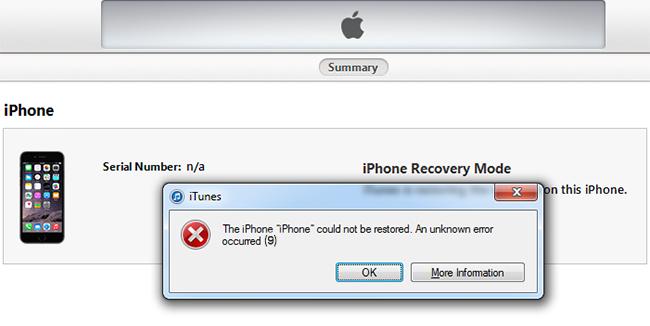 Способы устранения ошибки 2005 в iTunes