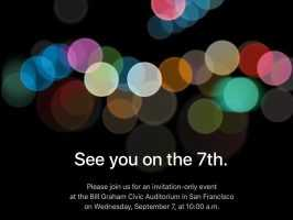 Официально оглашена дата и время презентации iPhone 7 от Apple