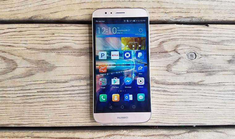 Лицевая панель и дисплей смартфона Huawei GX8