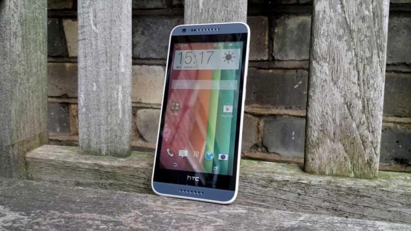 Лицевая панель и дисплей смартфона HTC Desire 620G