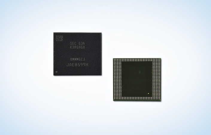 8 Гб DRAM LPDDR4