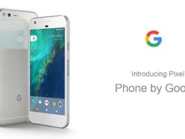 Carphone Warehouse раскрыл итоговые характеристики Google Pixel и Pixel XL