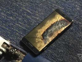 Взрывается замененный Galaxy Note 7 и компания Samsung делает заявление