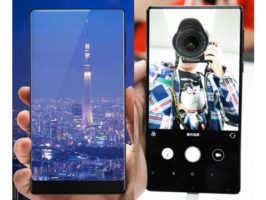Xiaomi Mi MIX на живых фото