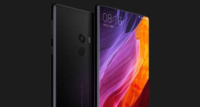 Xiaomi MiMix: Android-смартфон сбезрамочным экраном икерамическим корпусом