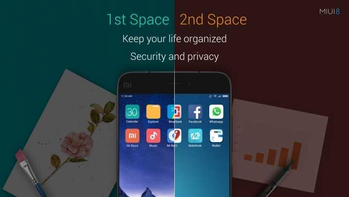 Что такое второе пространство в смартфонах Xiaomi?